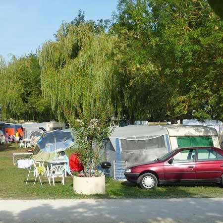 Tent Or Caravan Place Of Near Royan Charente Maritime France