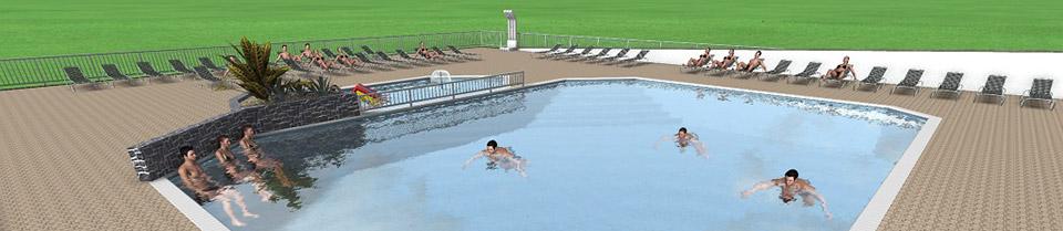 Camping royan la palmyre parc aquatique piscine chauff e for Camping royan avec piscine