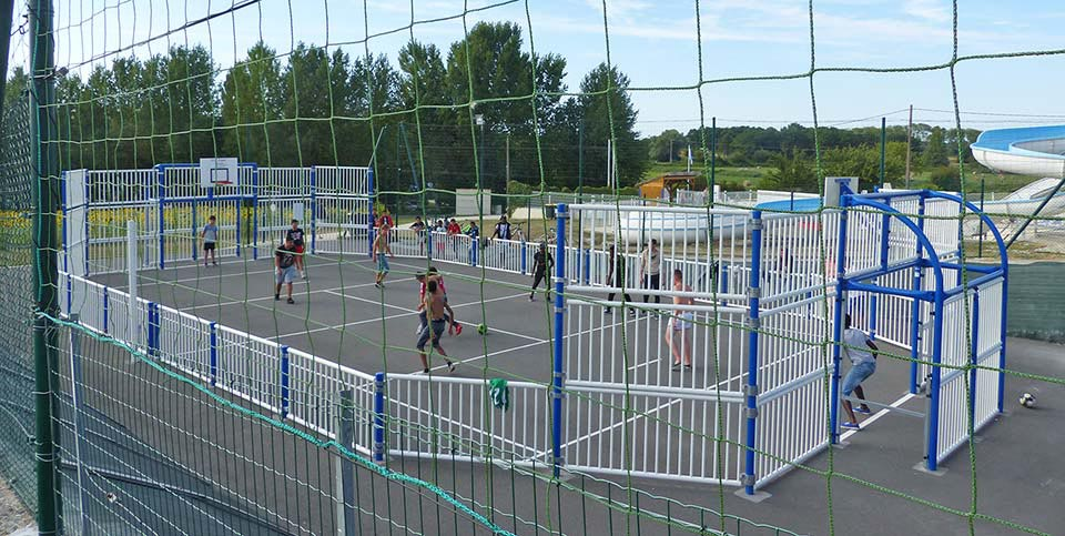 aire multi sports camping 17 Royan charente maritime