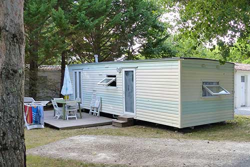 Location Mobil home confort 2 camping Royan proche des plages